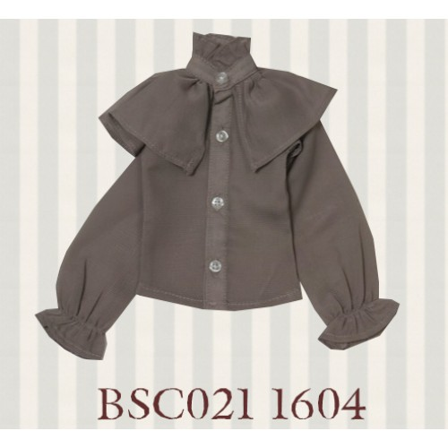 1/4 MSD MDD size *Alice Shirt*BSC021 1604 (Grey Brown)