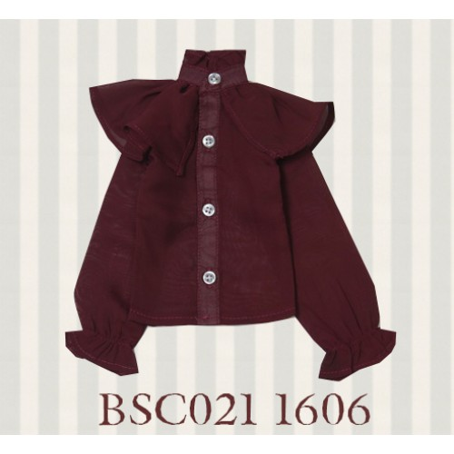1/4 MSD MDD size *Alice Shirt*BSC021 1606 (Wine)