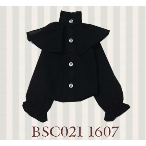 1/3 SD10/16/DD size 1/3 Girl & Slim Boy*Alice Shirt*BSC021 1607 (Black)