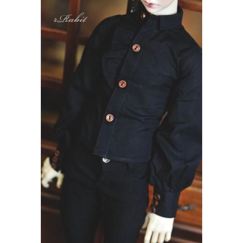1/4 *Basil Shirt * BSC023 1803 (Black)