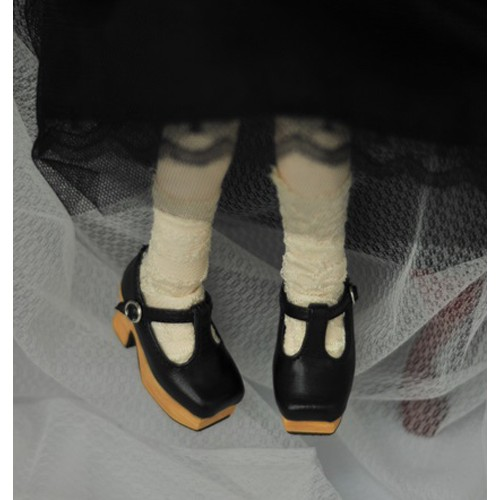 1/3 Girls - [Coven One] T-sharp shoes - Black