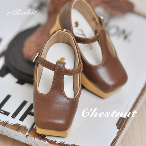 1/3 Girls - [Coven One] T-sharp shoes - Chestnut