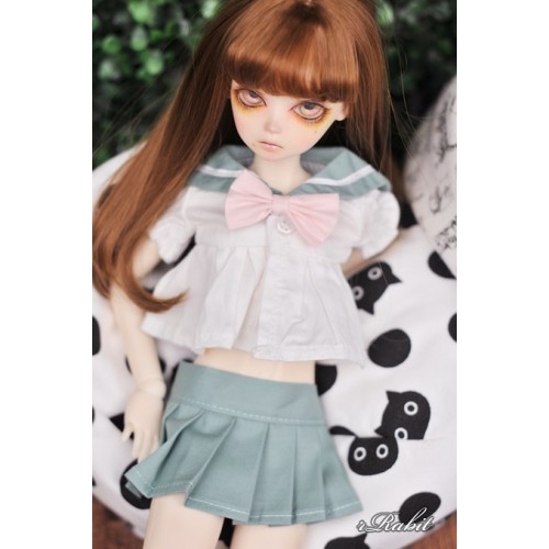 1/4 MSD MDD Holiday Angel Philia - Sailor Cute Dress Set - CP010 005 (Lake Green)