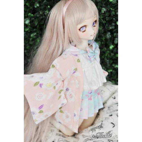 [Limited] 1/4 Haori Coat 羽織 - Sakura Yuki