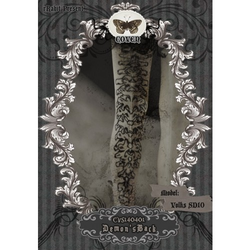 ♣COVEN♣ Socks CVS140401 Demon's Back