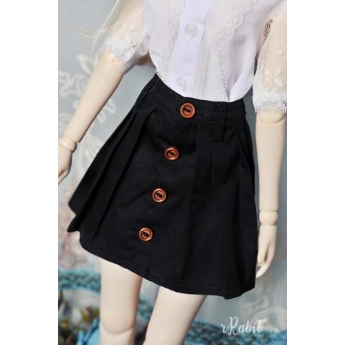 1/4 [Witchcraft Academic] - Paige Skirt - CVZ002 001(Black)