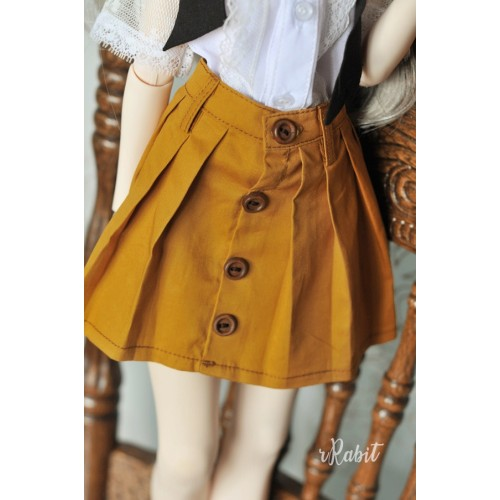 1/4 [Witchcraft Academic] - Paige Skirt - CVZ002 003(Mustard)