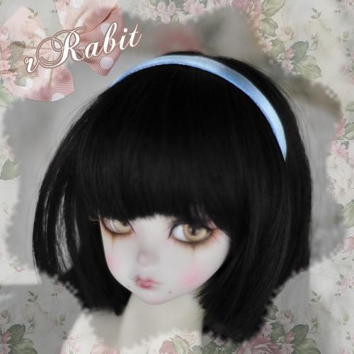 1/3 & 1/4 Hair band - Basic Style - Baby blue