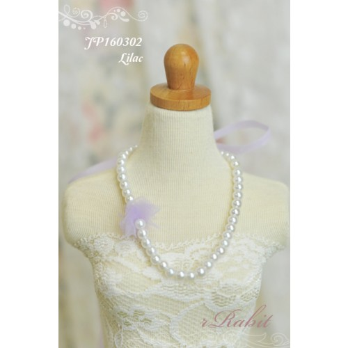1/3 - Ribbon w/ Jewelry pearl necklace - JP160302 (Lilgac)