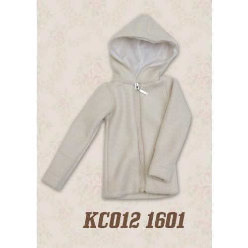 1/4 Plush hoodie coat - KC012 1601 (Boys & Girls)