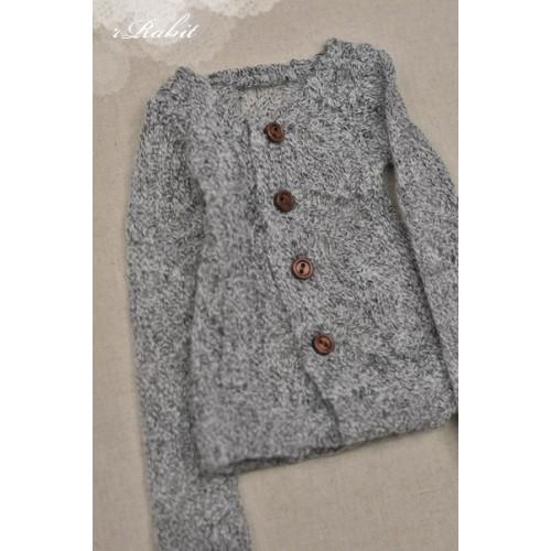 1/4 Cute Round Neckline Sweater coat KC020 1627