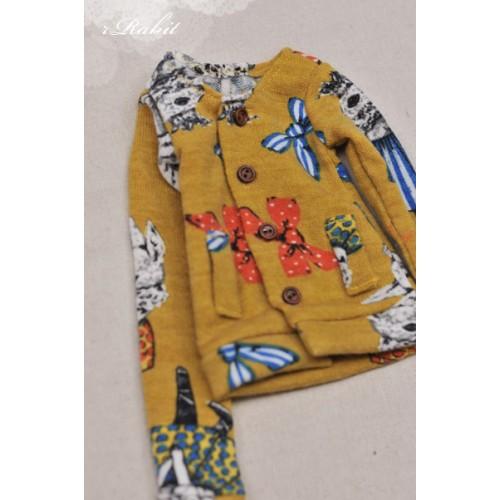 1/4 Cute Round Neckline Sweater coat KC020 1632