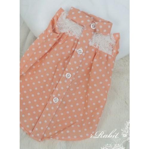 1/3 SD10/13/16 DD Sleeveless shirt - LC005 1707 (Peach & W/spot)