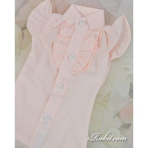 1/3 SD10/13/16 DD Butterfly-sleeve shirt shirt - LC015 1704 (Light Pink)