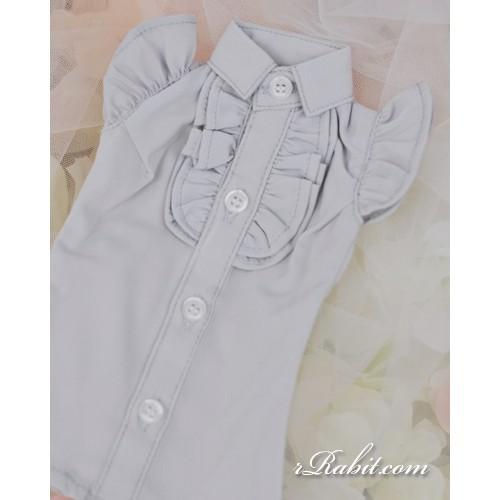 1/3 SD10/13/16 DD Butterfly-sleeve shirt shirt - LC015 1706 (Light Grey)