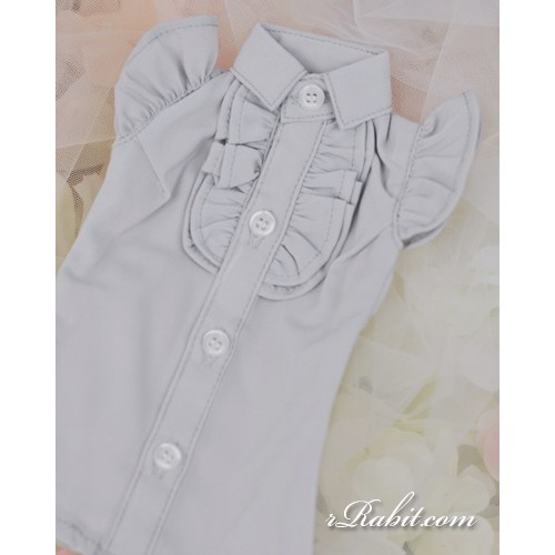 1/4 MSD MDD Holiday AngelPhilia - Butterfly-sleeve shirt shirt - LC015 1706 (Light Grey)
