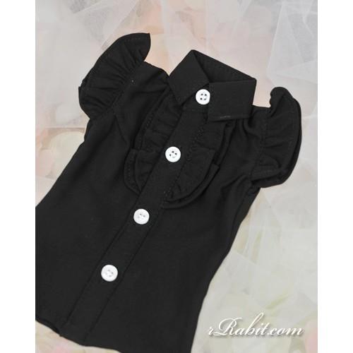1/3 SD10/13/16 DD Butterfly-sleeve shirt shirt - LC015 1707 (Black)