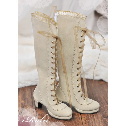 1/3 SD10/13 - LG002 Carving long boot - Khaki