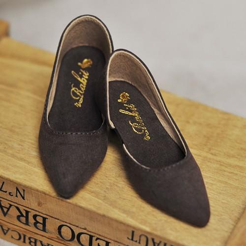 SD10/13 Girl d'Orsay pumps (Normal Feet use) LG006 Bear Brown