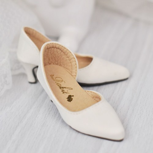 SD10/13 Girl d'Orsay pumps (Normal Feet use) LG006 Creamy White