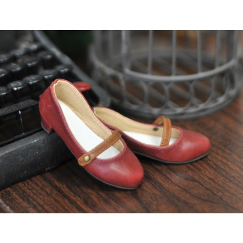 1/3 Sugar Dolly Shoes LG008 - Red