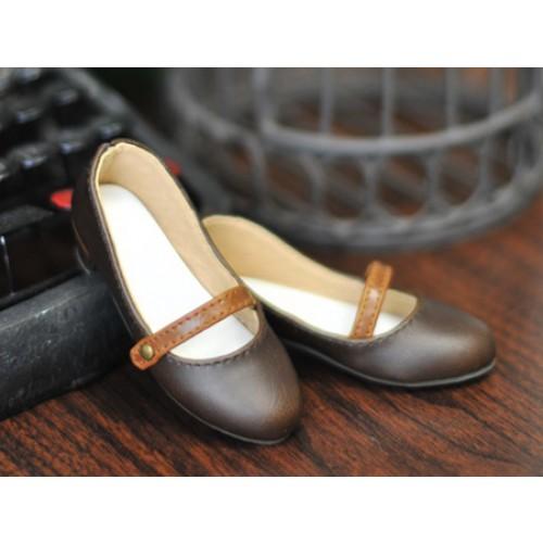 1/4 Sugar Dolly Shoes LG008 - Wood