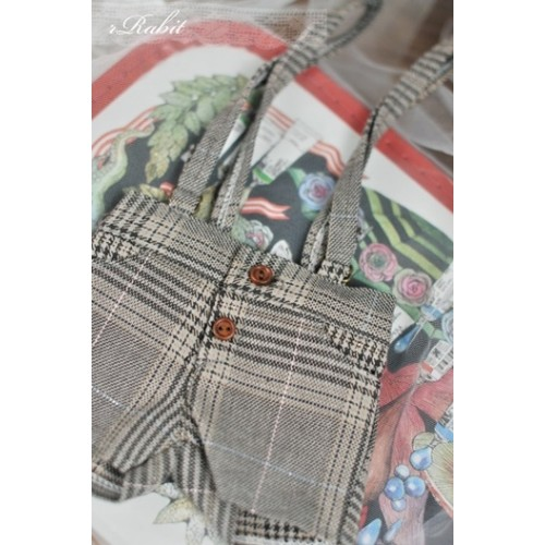 1/4  *Suspenders Short MG053 1814
