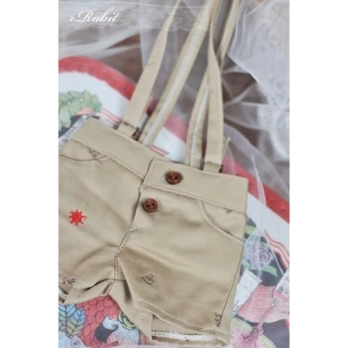 1/4  *Suspenders Short MG053 1819