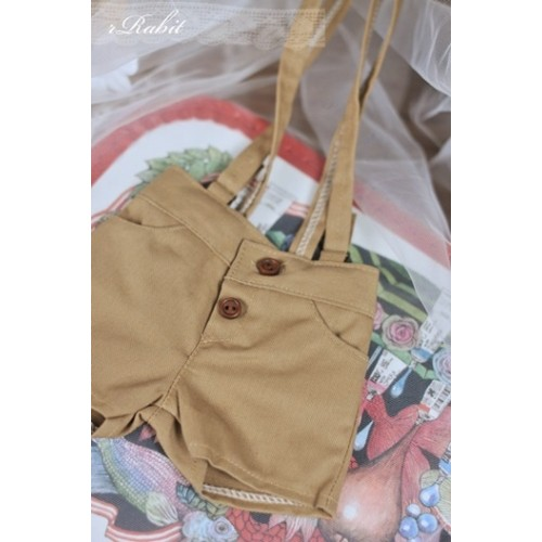 1/3  *Suspenders Short MG053 1822