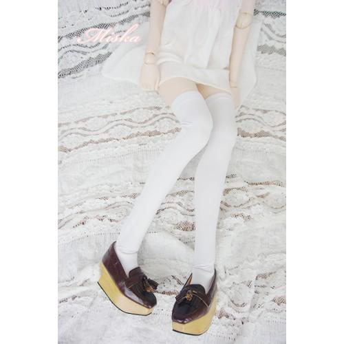 Miska - Socks MC001 - White