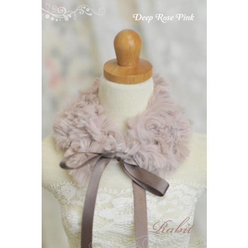 1/3 & 1/4 Deep Rose Pink Mo Fur