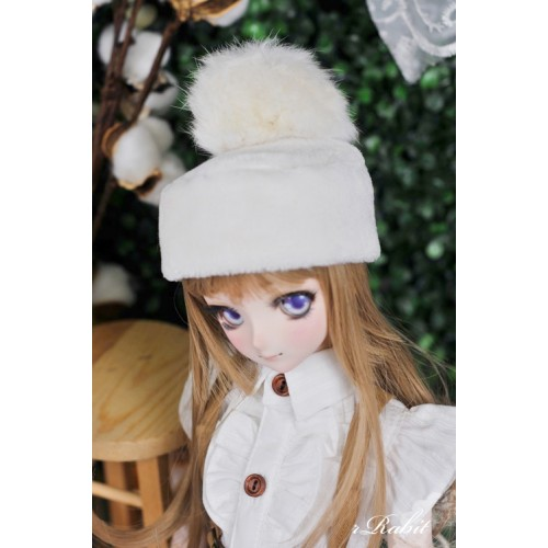 1/3 Snow Ball Mo Hat - 180401 - White