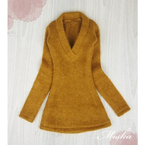 MISKA*1/3 Deep V Sweater - MSK008 005