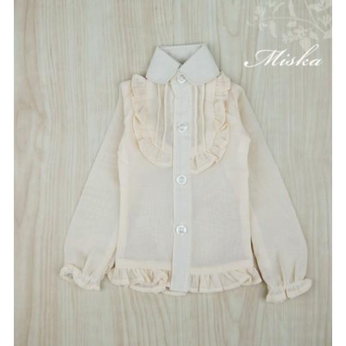 MISKA*1/3 Chiffon Lotus Shirt   - MSK010 004