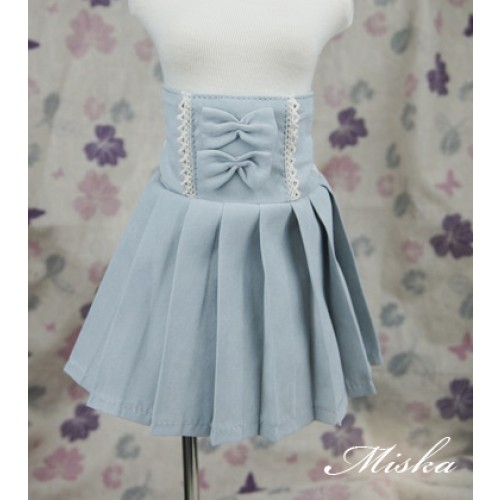 MISKA*1/3 High-waisted Pleated skirt - MSK012 002