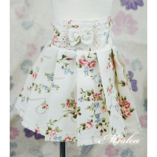 MISKA*1/4 High-waisted Pleated skirt - MSK012 006