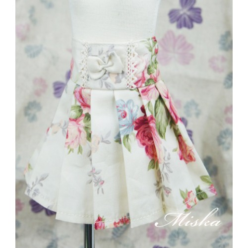 MISKA*1/4 High-waisted Pleated skirt - MSK012 007
