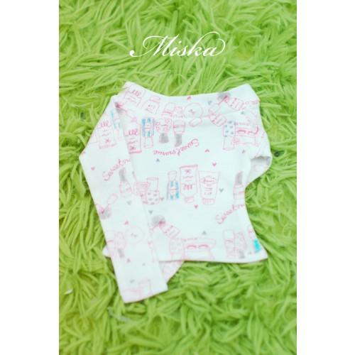 MISKA*1/3 Off-Shoulder T-shirt - MSK015 003