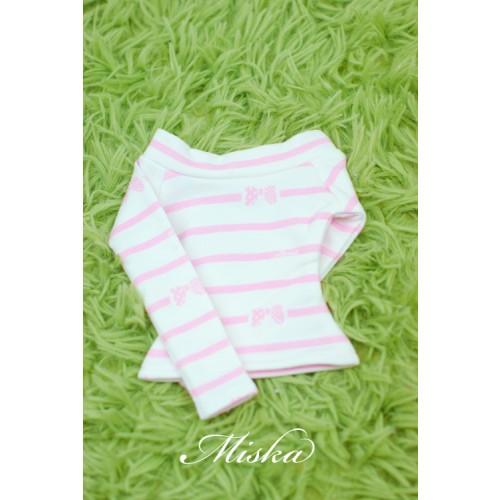 MISKA*1/3 Off-Shoulder T-shirt - MSK015 009