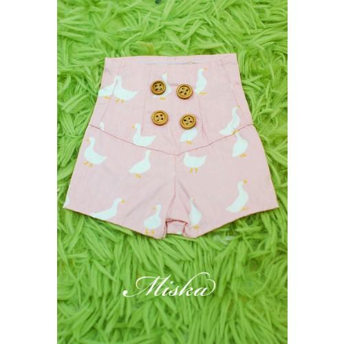 MISKA*1/4 Back tying Shorts - MSK016 002
