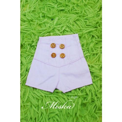 MISKA*1/4 Back tying Shorts - MSK016 003
