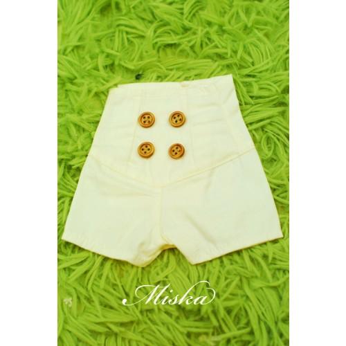 MISKA*1/4 Back tying Shorts - MSK016 004