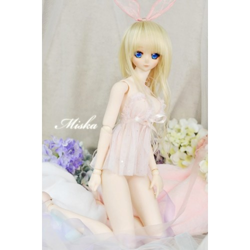 [Miska]1/4 MSD MDD [Private Party] - Sexy lingerie skirt - MSK023 002 (Light Pink)