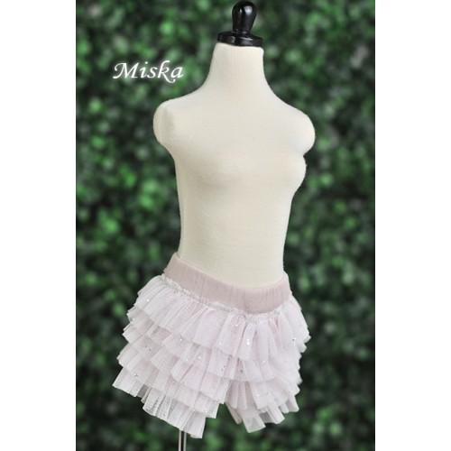 MISKA*1/3 Shiny Lace Pants - MSK024 003