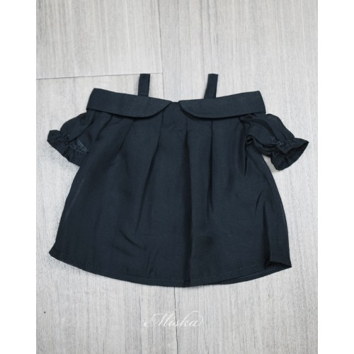 Miska+Lady Blouse MSK028 002 (Black Chiffon)