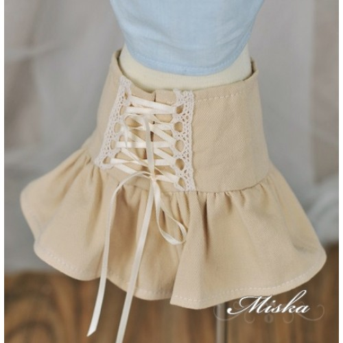 Miska+High Waisted A-line skirt MSK029 002