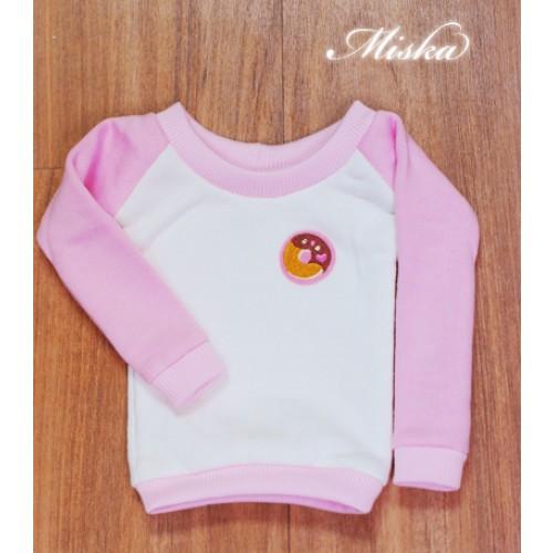MISKA*1/3 Sweet Badge Sweatshirt  - MSK030 002