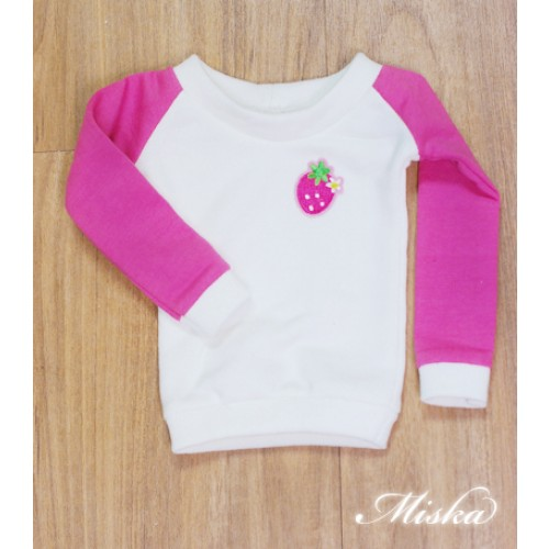 MISKA*1/3 Sweet Badge Sweatshirt  - MSK030 006