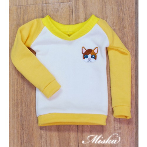MISKA*1/3 Sweet Badge Sweatshirt  - MSK030 009