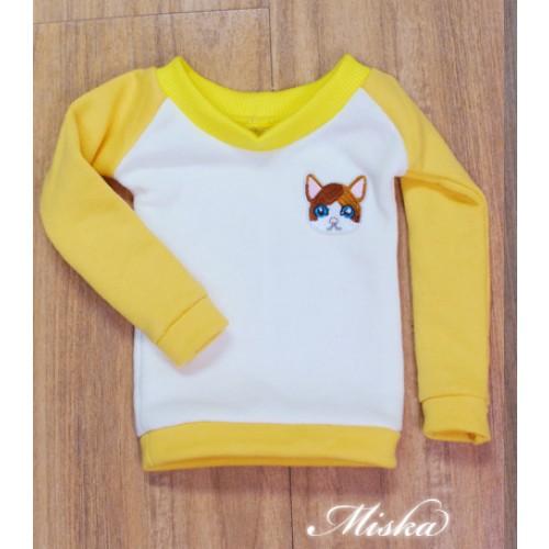 MISKA*1/3 Sweet Badge Sweatshirt  - MSK030 009